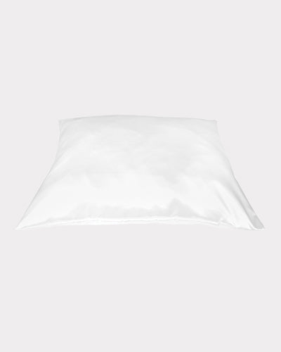 White Satin Pillow Case, Extra Soft and Silky Pillow Cover by Betty Dain Creations