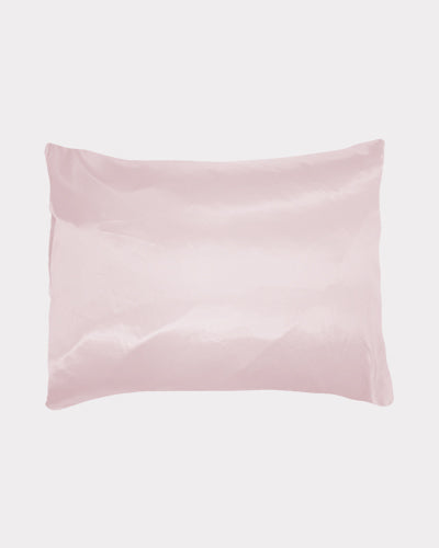 Pink Satin Pillow Cover for Hair Protection and Skin, Betty Dain Creations