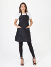 Betty Dain Ultimate Apron, Black Chemical-Resistant Apron
