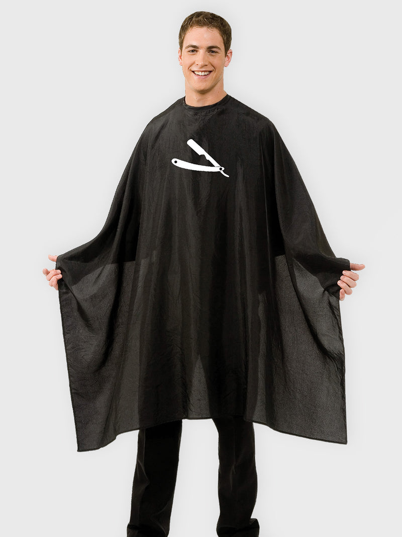 Straight Razor Barber Shop Cape by Betty Dain
