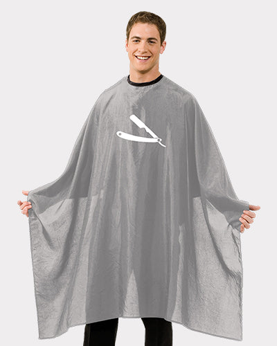 Gray Barber Cape Design by Betty Dain