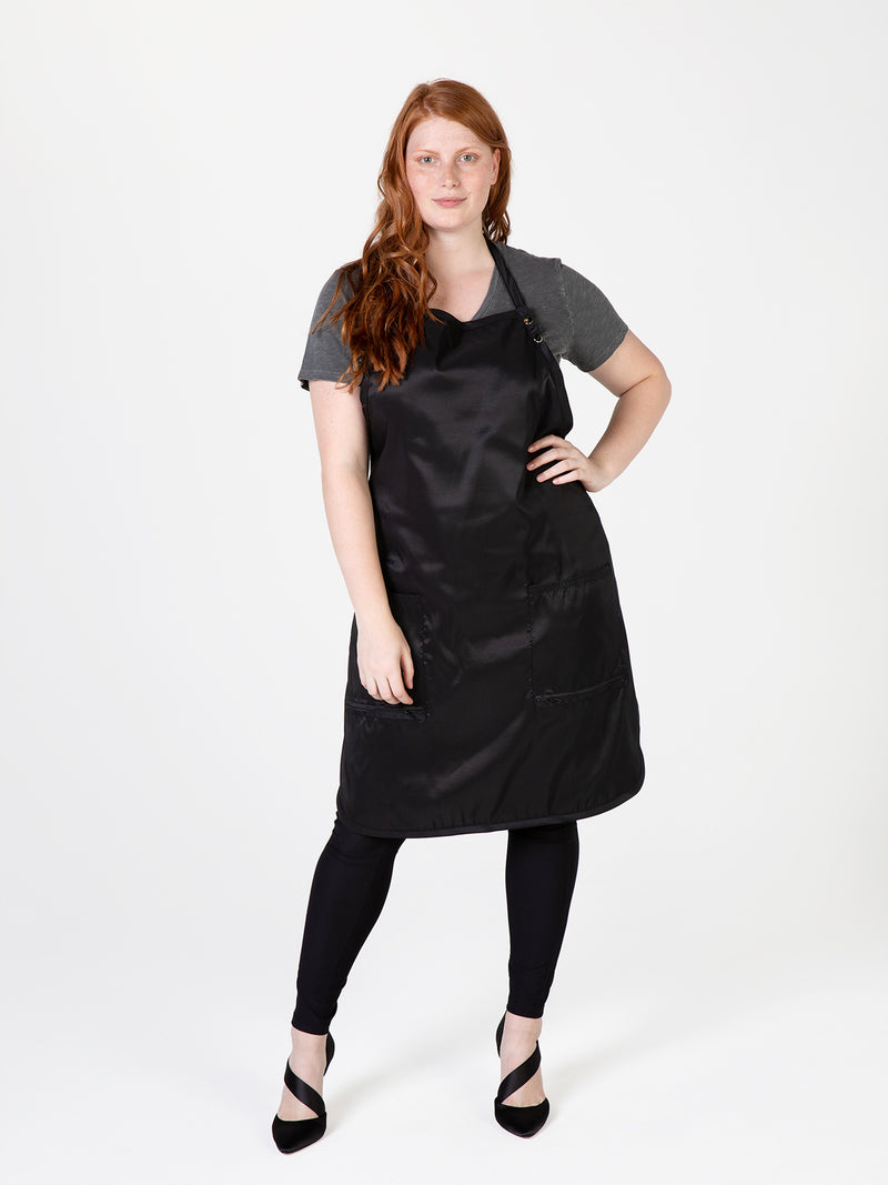 A Size Above Apron, Plus Size Apron for Hair Stylists by Betty Dain