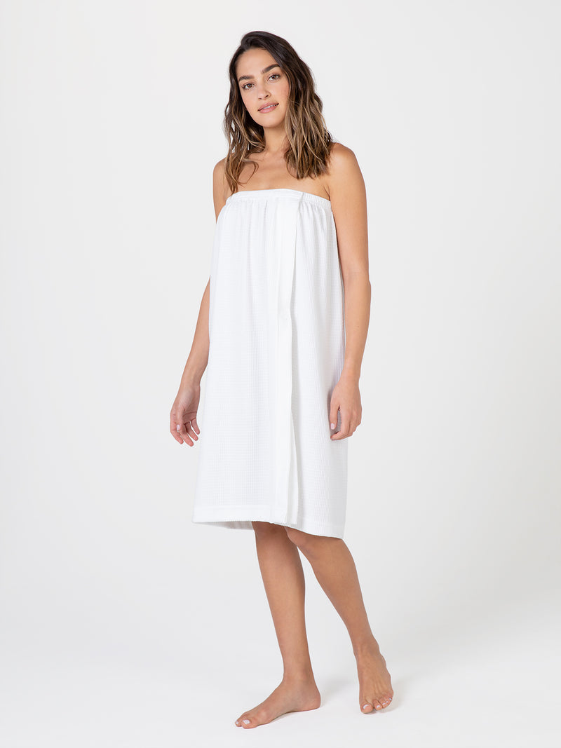 Betty Dain Spa Wrap Terry Gown