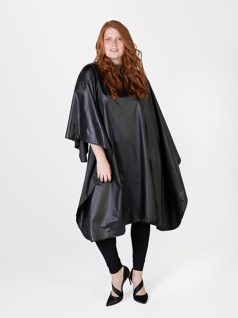 Shampoo cape, one-size shampoo cape by Betty Dain