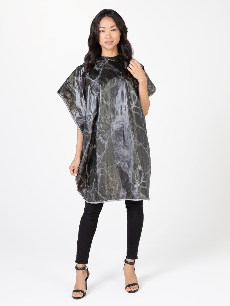 Shampoo Cape with Marble Design Betty Dain