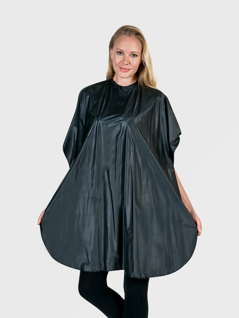 Black Budget Shampoo Cape, Betty Dain Creations