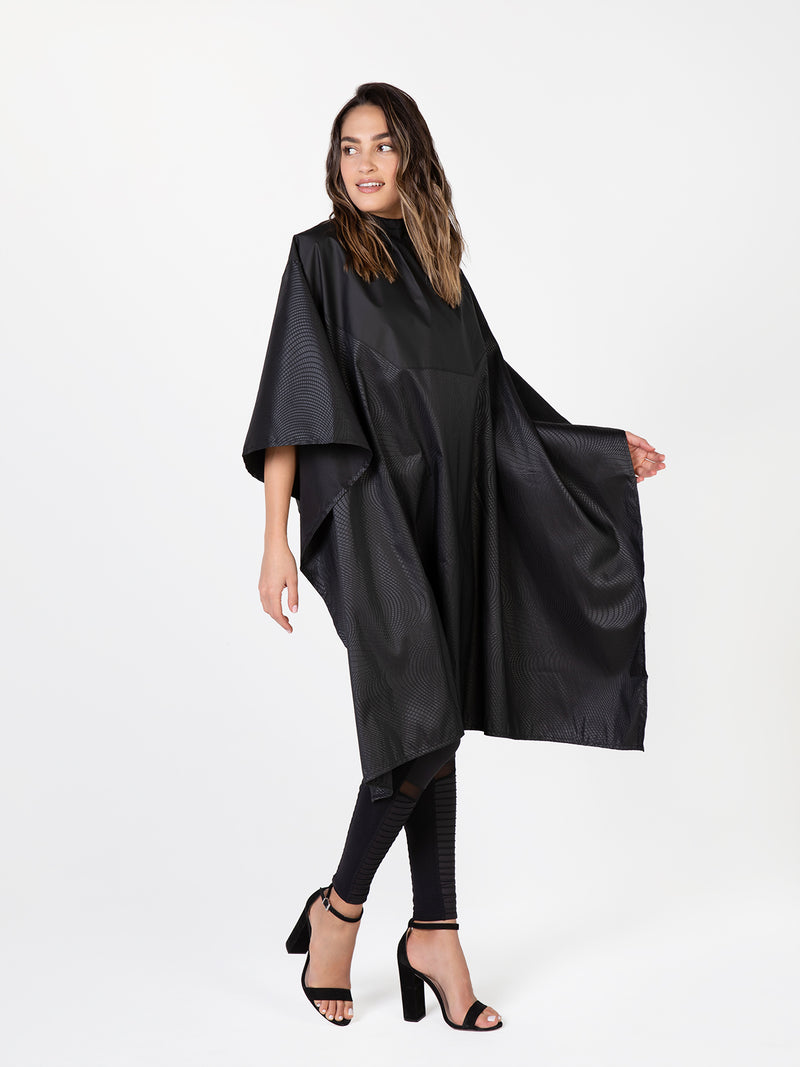 Cosmix Bleach-Proof Chemical Cape for Salons