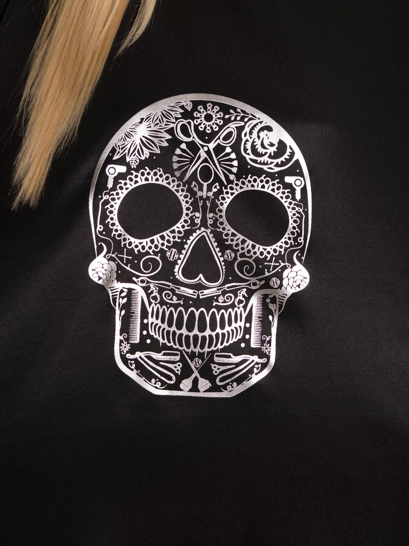 Betty Dain Sugar Skull Styling Cape