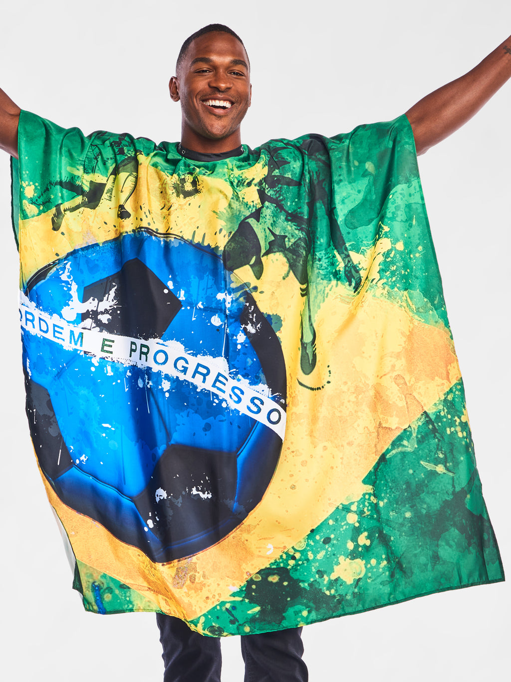 Brasileiro Barber Cape | The International Cape Collection