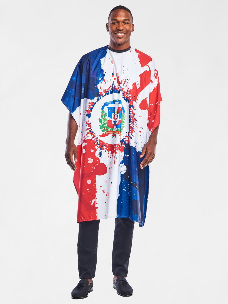Dominicano Barber Cape | The International Cape Collection