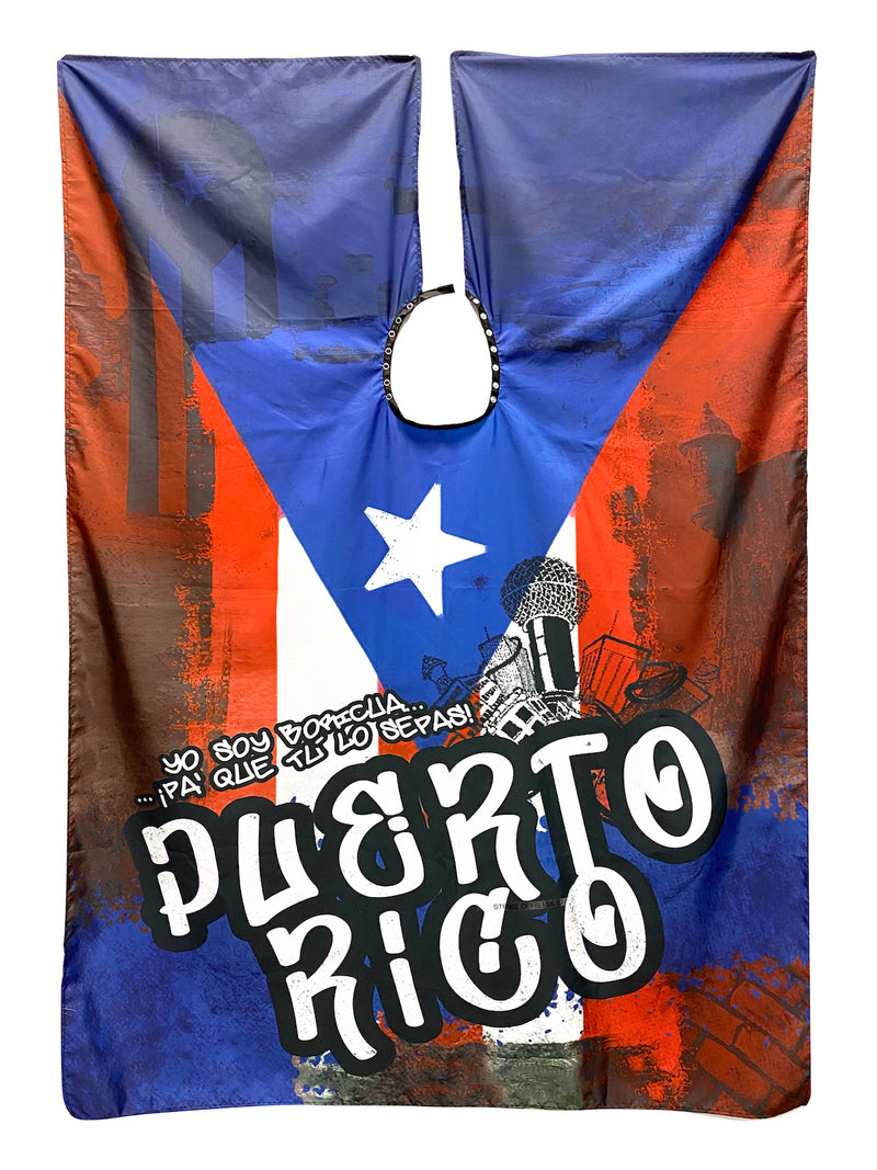 Puerto Rico Barber Cape | International Capes Collection