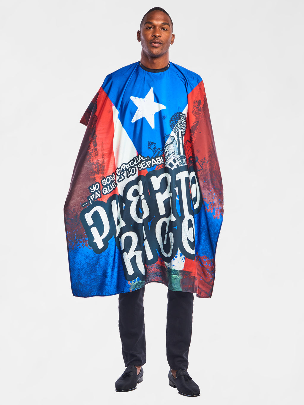 Boricua Barber Cape | The International Cape Collection