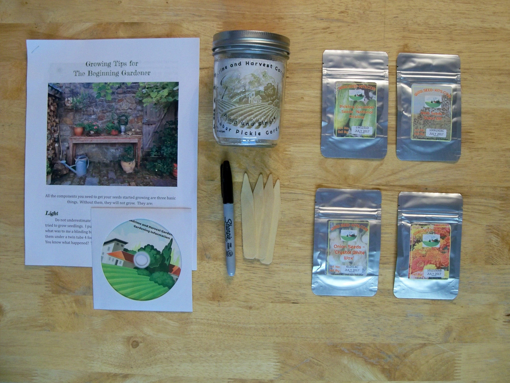 Heirloom Pickle Garden Kit