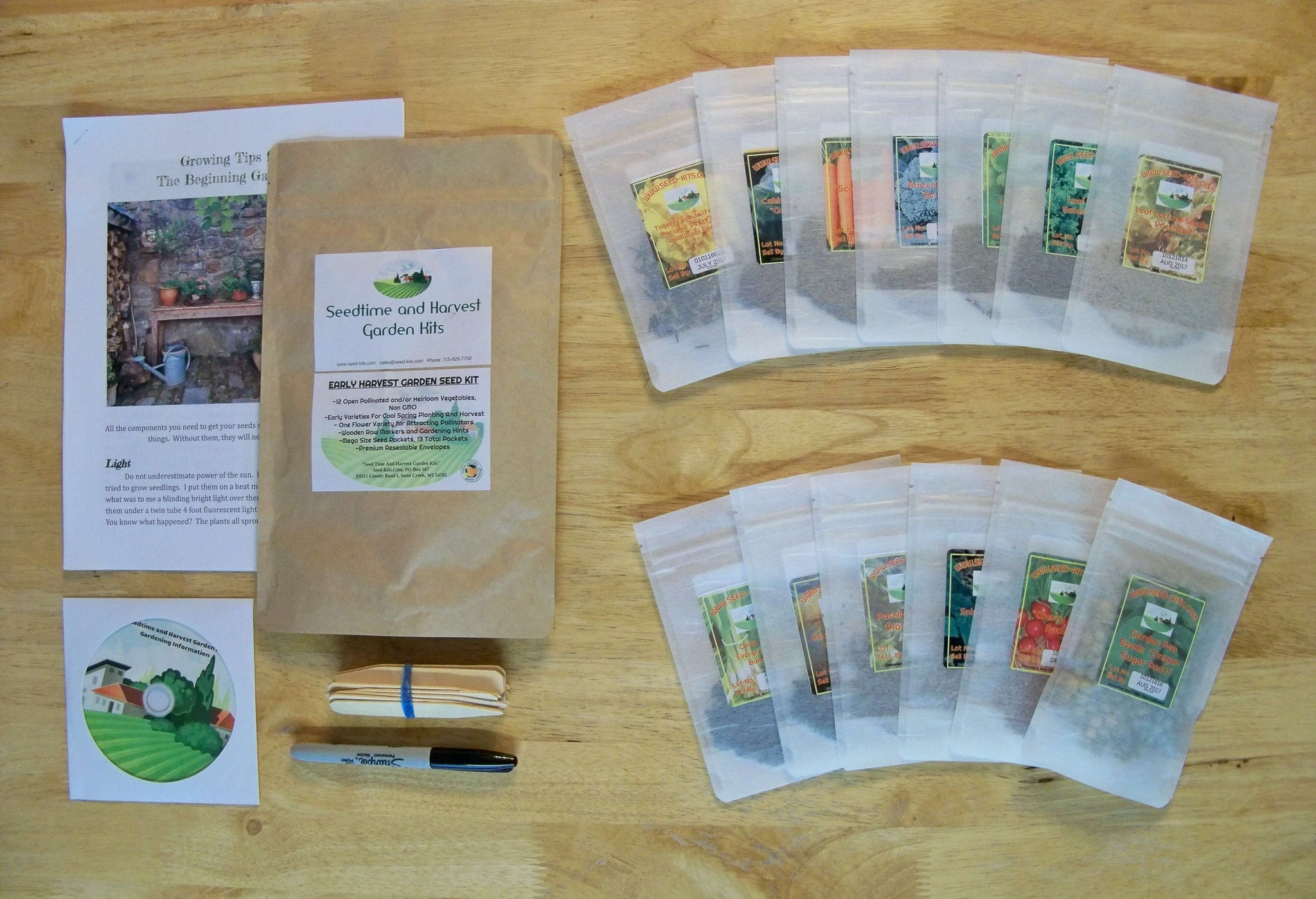 Unwins Kitchen Garden Herb Kit Faery Garden Kits 8 Styles 3995 Sundays Child In Lexington Va