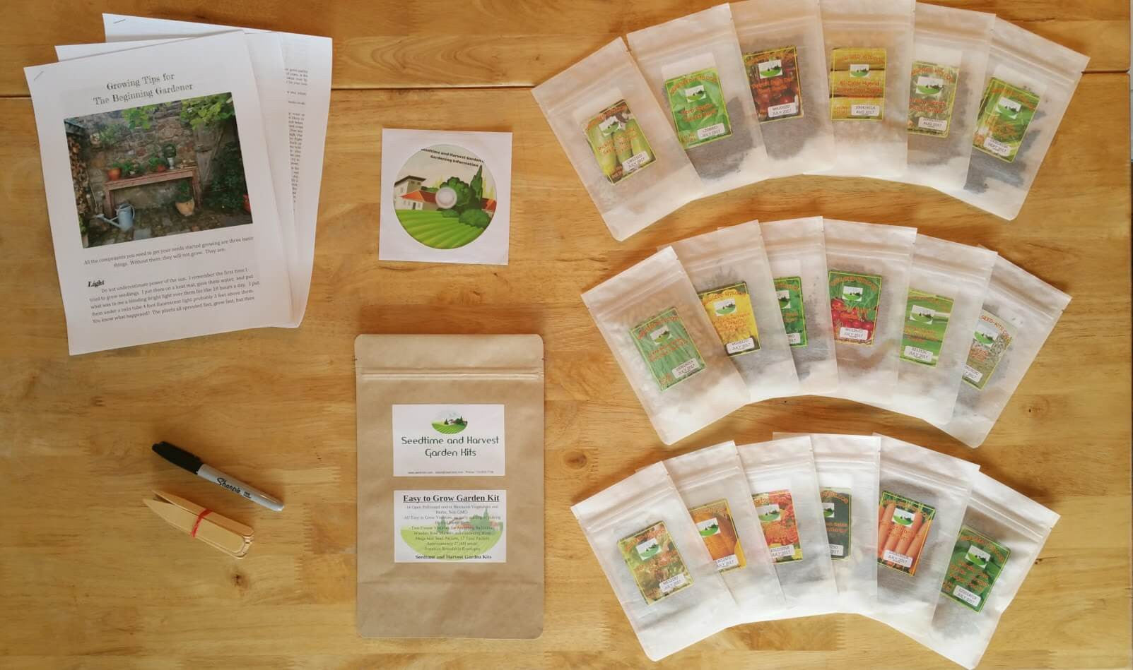 Easy to Grow Garden Kit