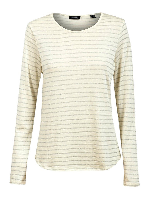 Striped Lurex Top