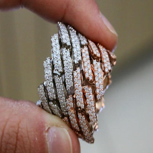 Diamond Cuban Rings