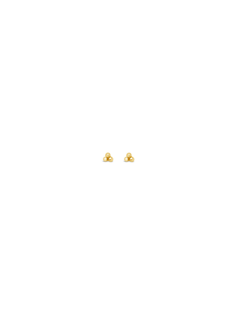 MINI TRIO STUDS, GOLD