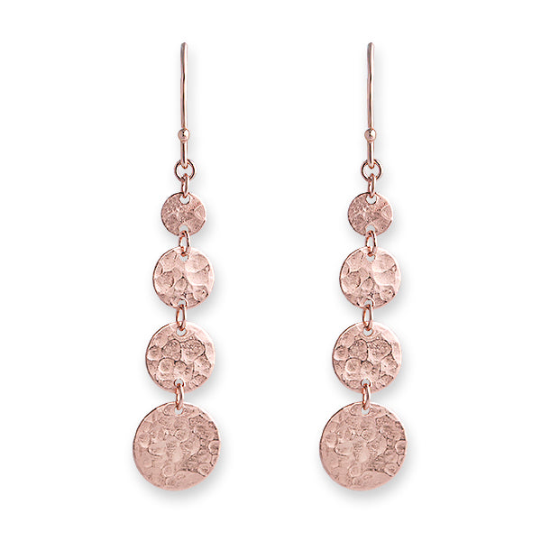 ROSE GOLD JINGLE EARRINGS