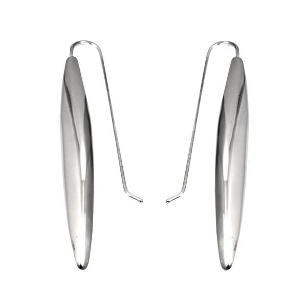 POLISHED ELONGATED EARRINGS