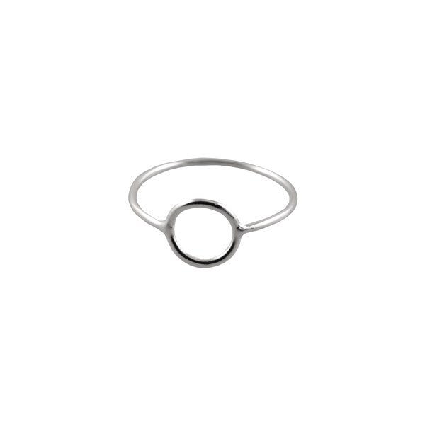 FINE OPEN CIRCLE RING