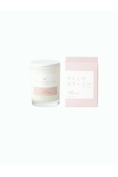 PALM BEACH mini candle, FRANGIPANI
