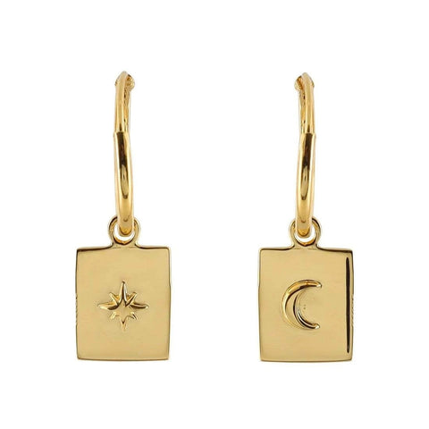 CELESTIAL MEDALLION SLEEPERS, GOLD
