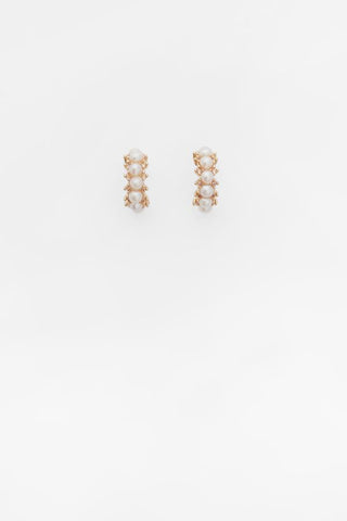 MARGARIDA PEARL HOOPS