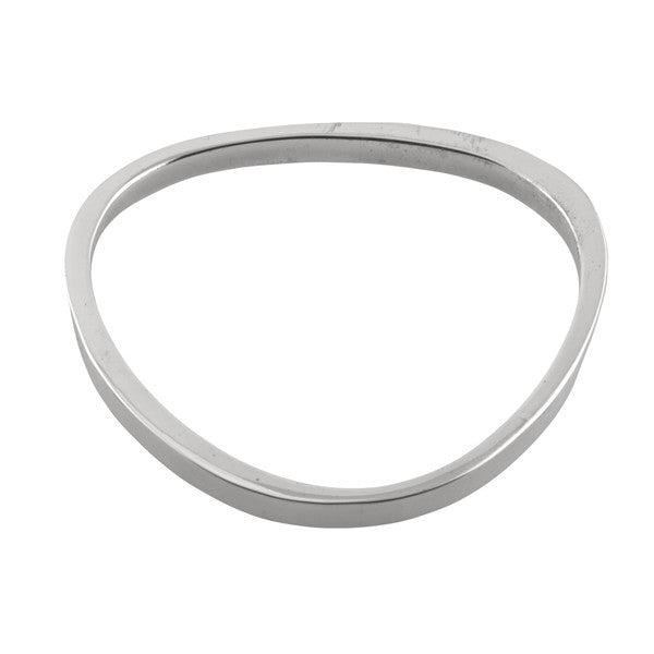 CURVED TRIANGLE BANGLE