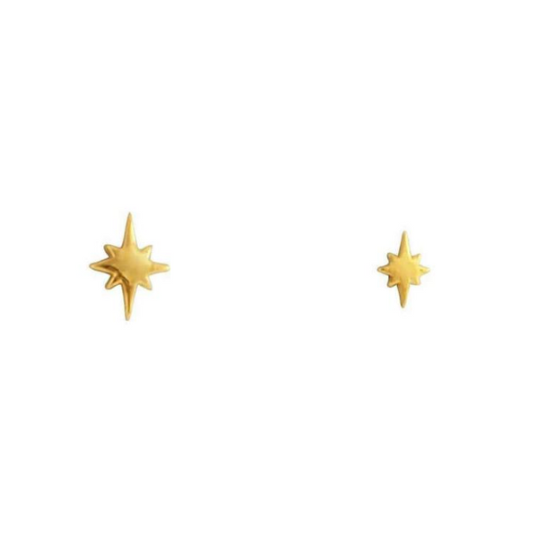 GOLD CELESTIAL STUDS