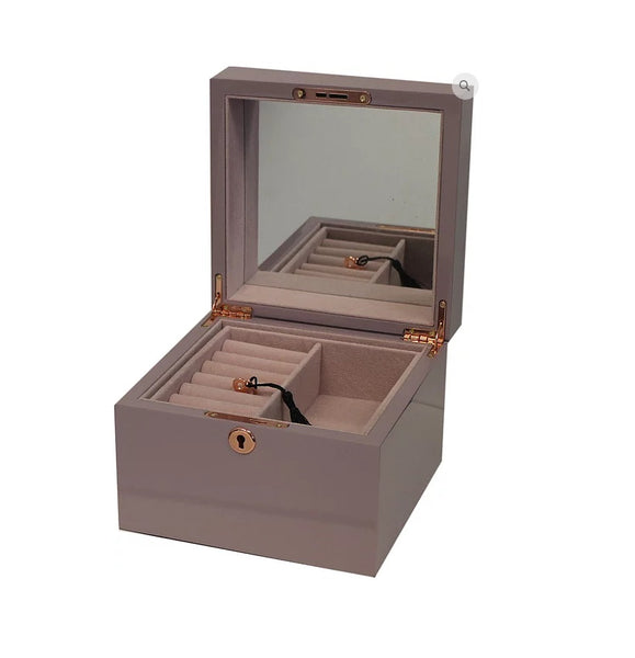 SMALL JEWELLERY BOX - 4 colours!