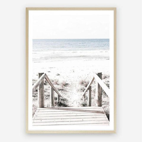 Beach Stairs by The Print Emporium. In stock, in store only.