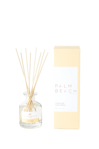 PALM BEACH mini diffuser, COCONUT & LIME