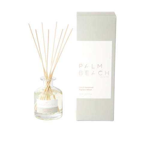 PALM BEACH DIFFUSER, CLOVE & SANDALWOOD
