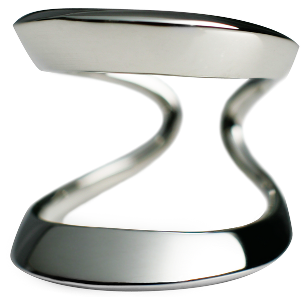 Double Ring Silver