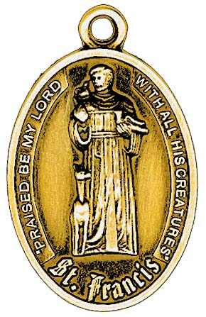 St francis of assisi pet tags