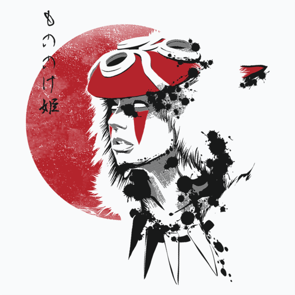 Princess Mononoke A Fantasy Tale With A Message Pop Up Tee