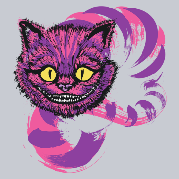 Cheshire cat from Alice in Wonderland – That Mischievous Grin