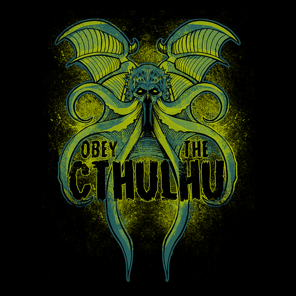Cthulhu An Old And Thrilling Enigma Pop Up Tee