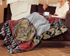 pop up tee chris farley blanket