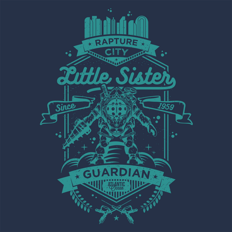 Little Sister Protector - Navy