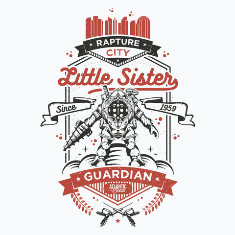 Little Sister Protector - White