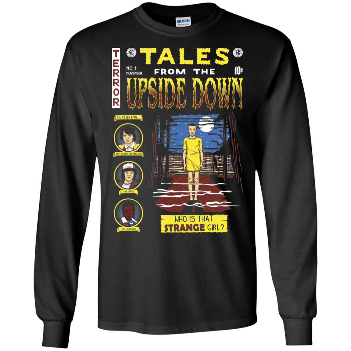 Tales from the Upside Down Men's Long Sleeve T-Shirt