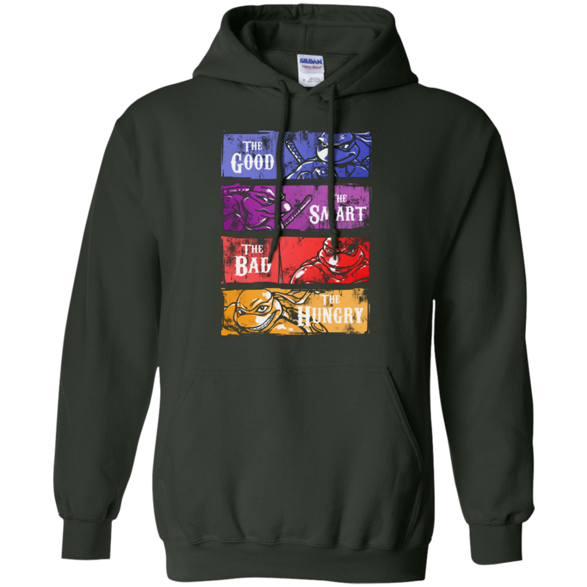 The Good, Bad, Smart and Hungry Pullover Hoodie