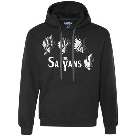 The Saiyans Premium Fleece Hoodie