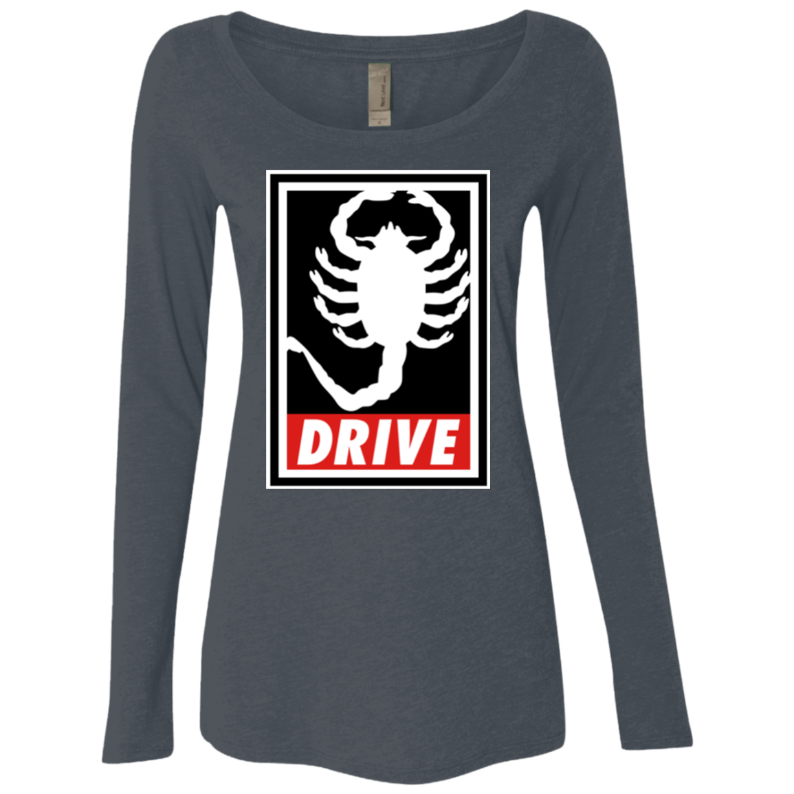 Obey and drive Women's Triblend Long Sleeve Shirt