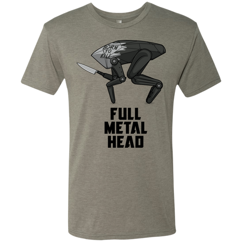 Full Metal Head Men's Triblend T-Shirt
