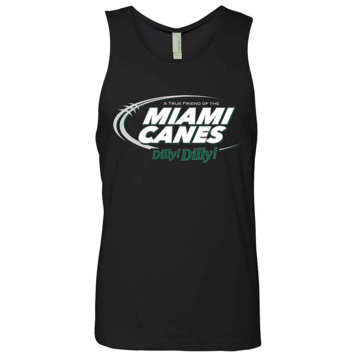 Miami Dilly Dilly Men's Premium Tank Top