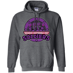 OBEDIENT EXPENDABLE FOOT SOLDIERS Pullover Hoodie
