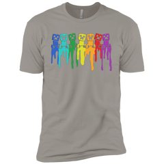 Rainbow Creeps Boys Premium T-Shirt
